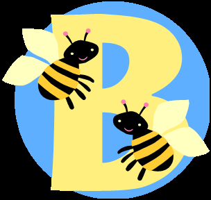 B with bees