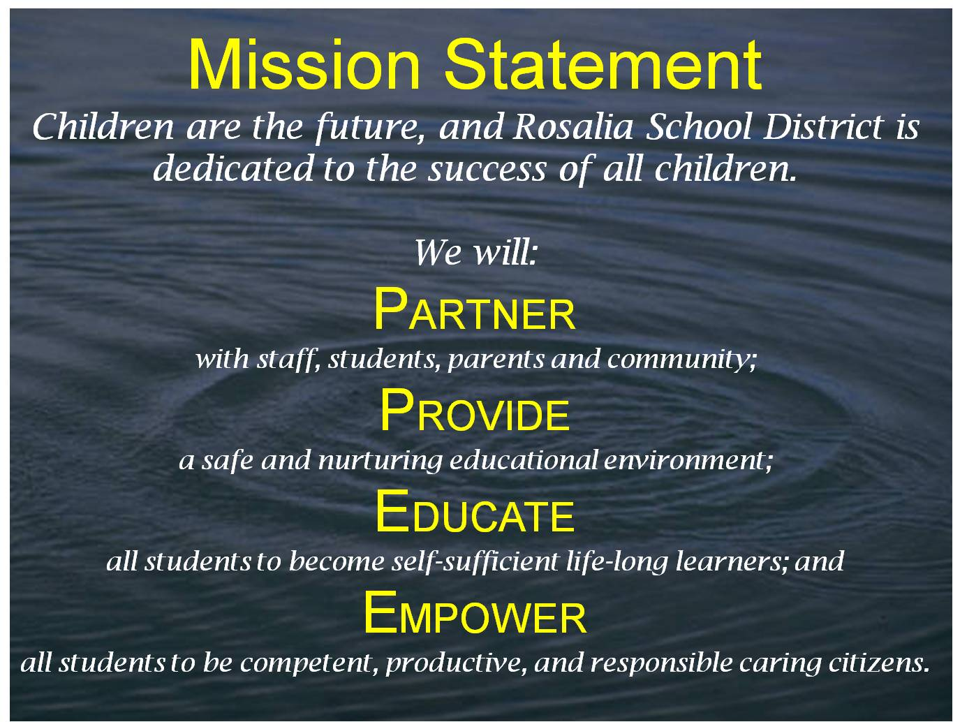 Preschool Teacher Mission Statement Examples